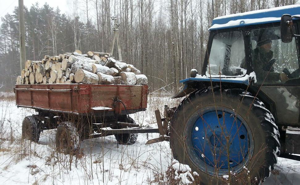 Тракторная тележка 2ПТС-4.